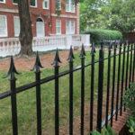 Crestwood front gates painted